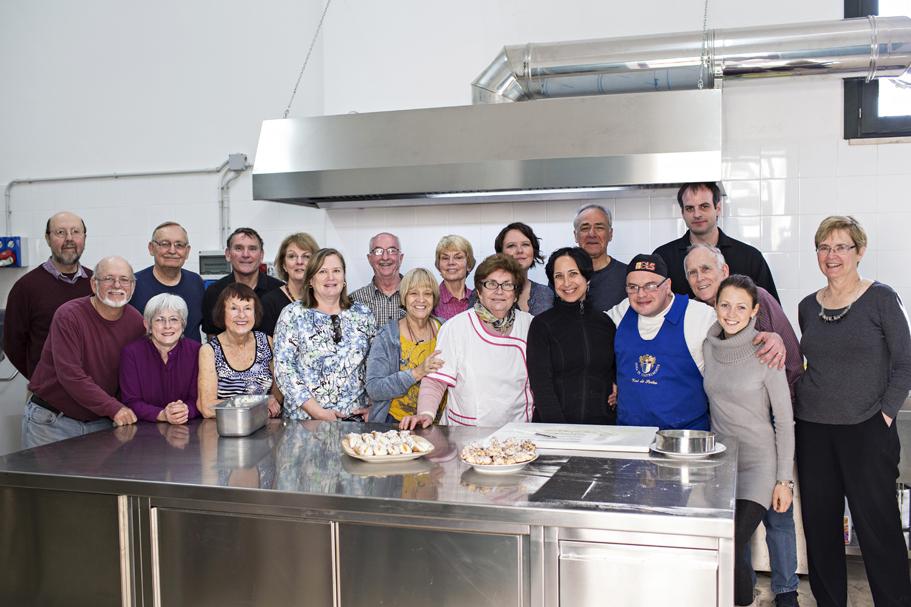 Gruppo scuola cucina